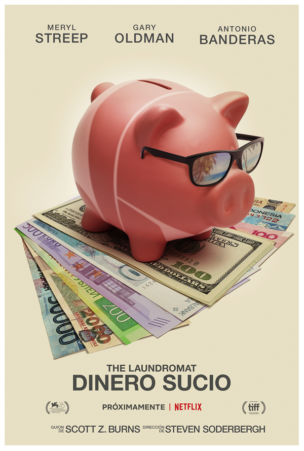 Netflix desvela el tráiler de 'The Laundromat: dinero sucio'