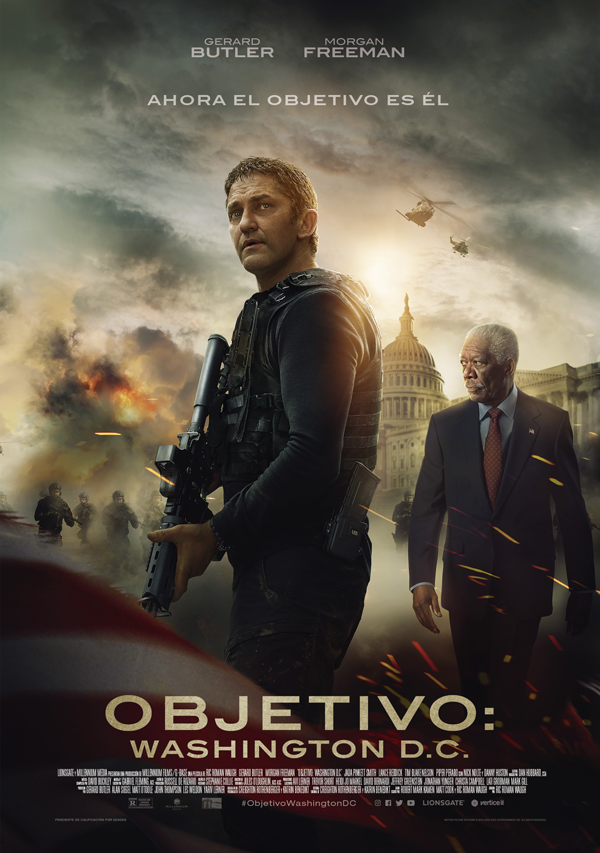 'Objetivo: Washington D.C'.: vuelve Banning en la película de acción del verano