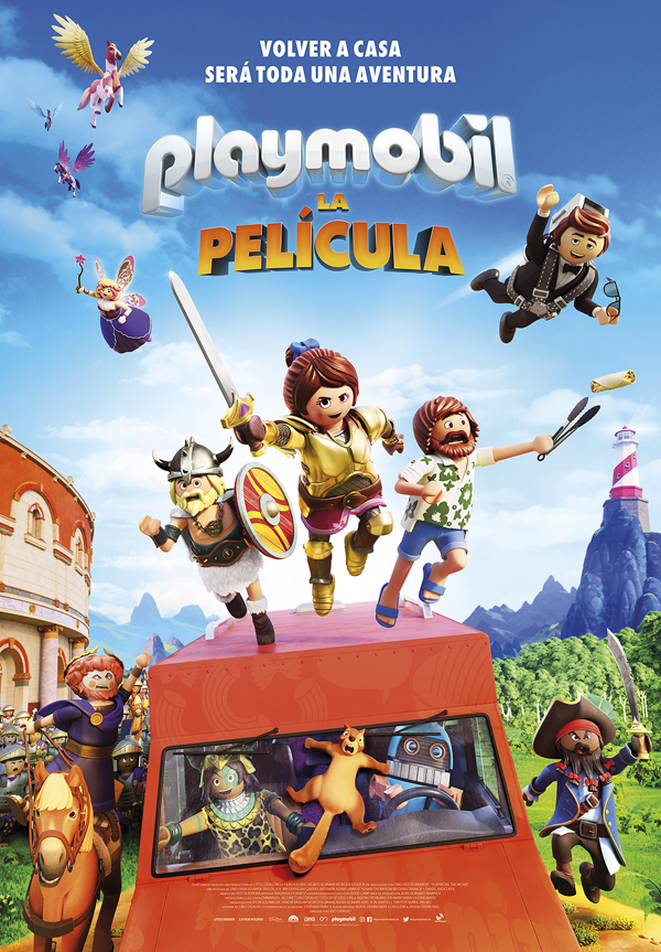 'Playmobil, la película': esperemos que sea reciclable