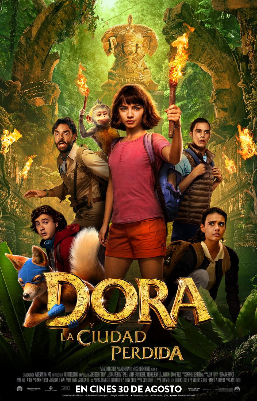 'Dora y la ciudad perdida' llega a los cines