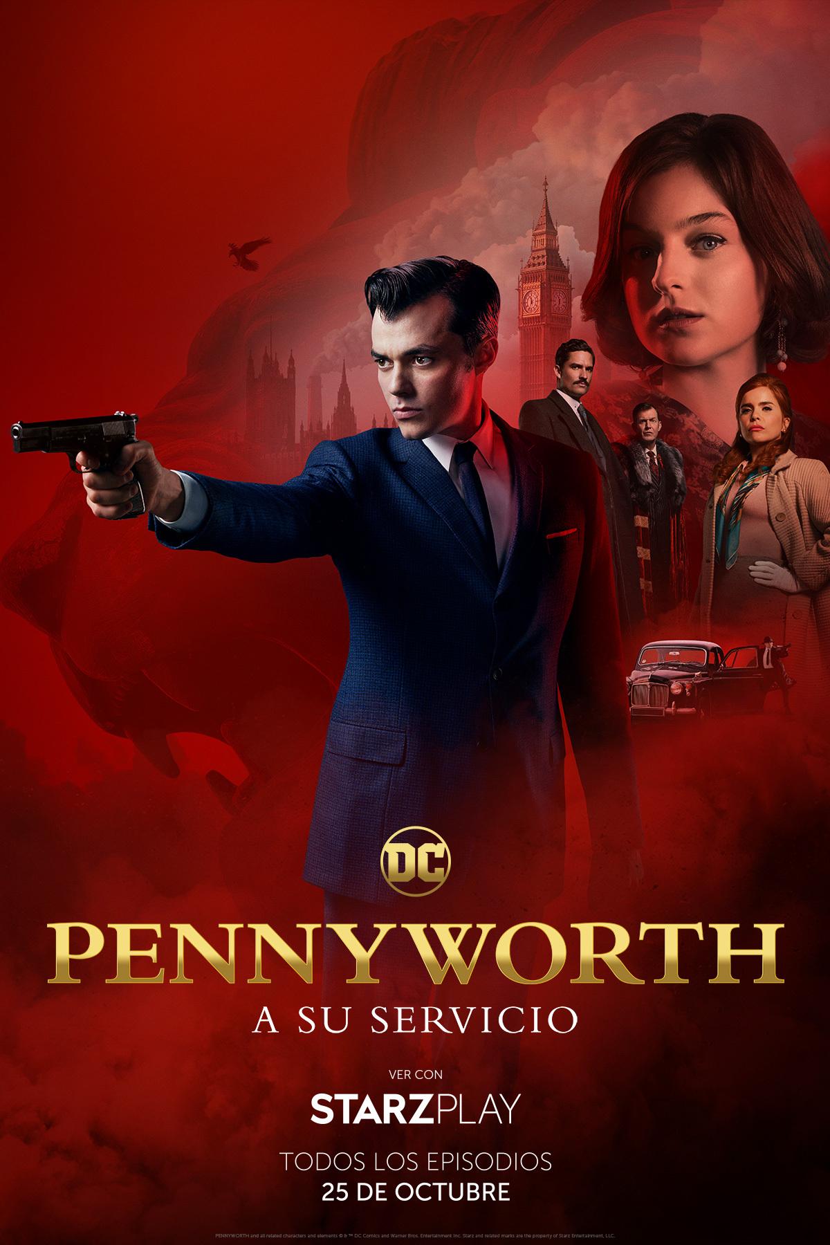 'Pennyworth' llegará el 25 de octubre a StarzPlay