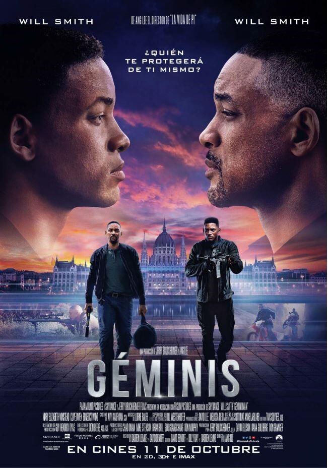 'Géminis', 11 de octubre en cines