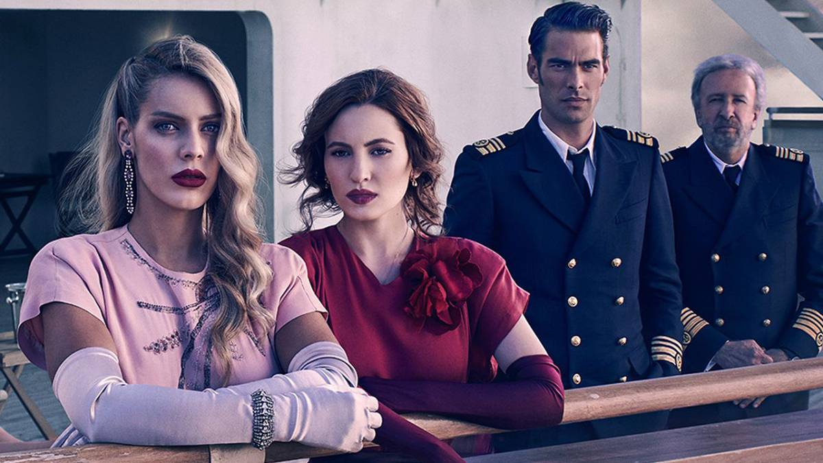 La segunda temporada de 'Alta Mar' zarpa el 22 de noviembre