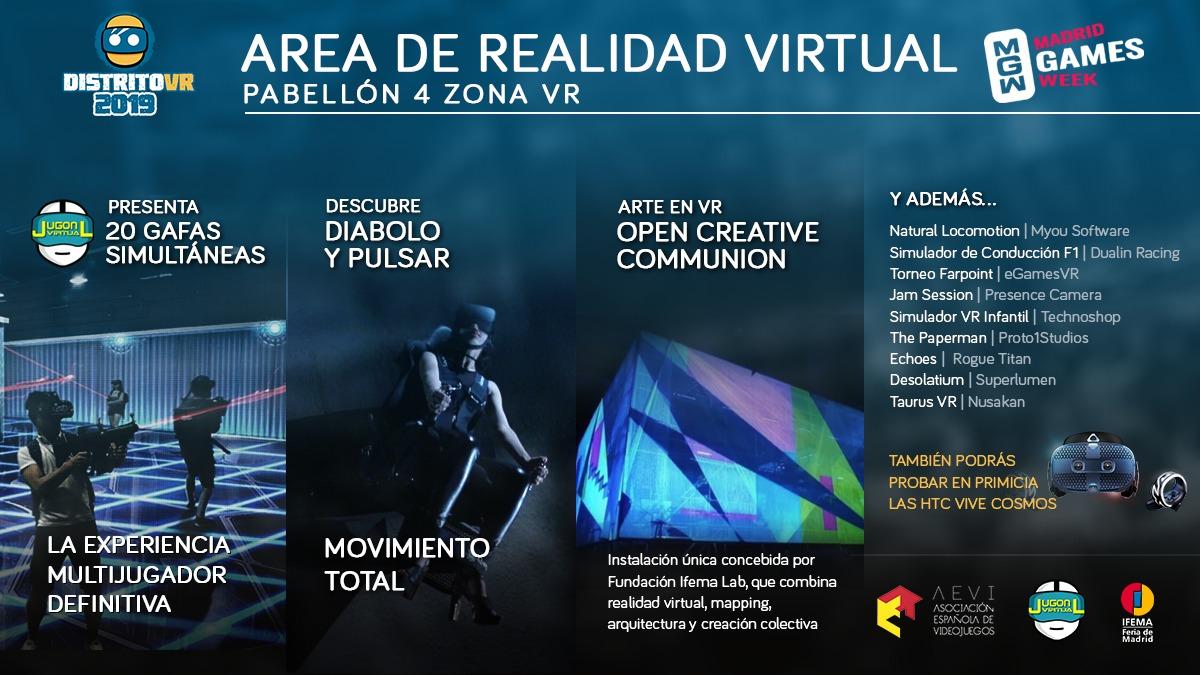 'Madrid Games Week', una experiencia única para el cuerpo y la mente