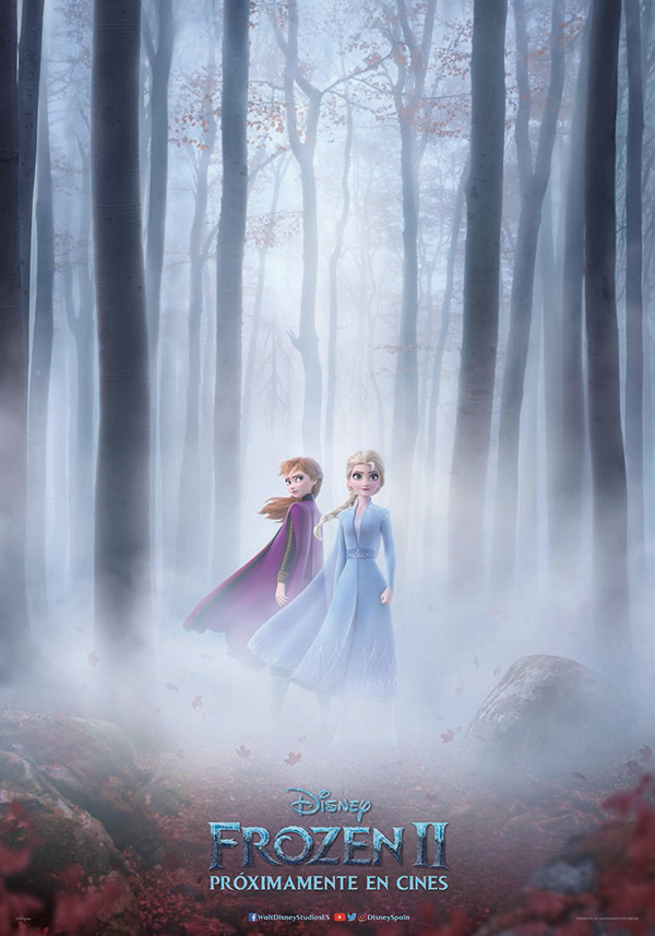Anna, Elsa, Kristoff y Olaf regresan en 'Frozen 2'