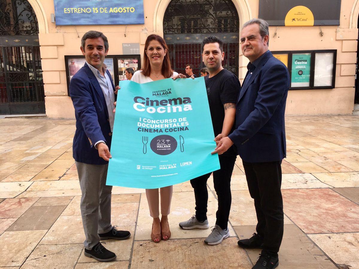 Festival de Málaga convoca el I Concurso de documentales Cinema Cocina