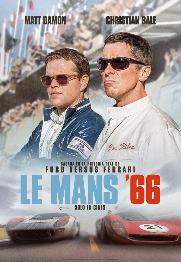 Matt Damon y Christian Bale protagonizan 'Le Mans'66'