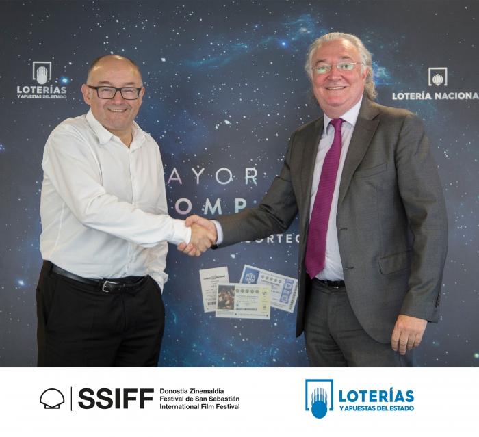 Loterías se convierte en socio patrocinador del proyecto de Archivo del Festival de San Sebastián