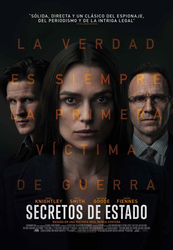 'Secretos de Estado', 25 de octubre en cines