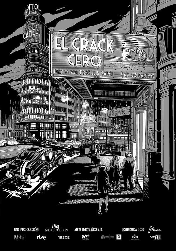 'El Crack Cero' adelanta su estreno al 4 de octubre
