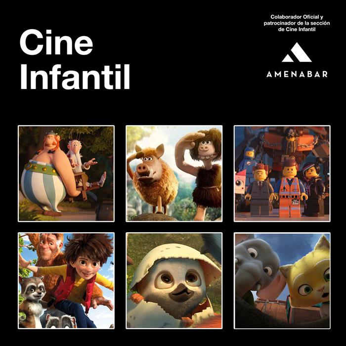 El Festival de San Sebastián y la empresa Amenabar presentan seis películas para el público infantil