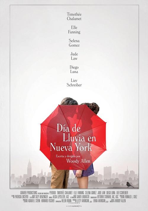 'Día de lluvia en Nueva York' cambia su fecha de estreno