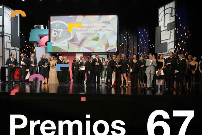 'Pacificado' gana la Concha de Oro de la 67 edición del Festival de San Sebastián