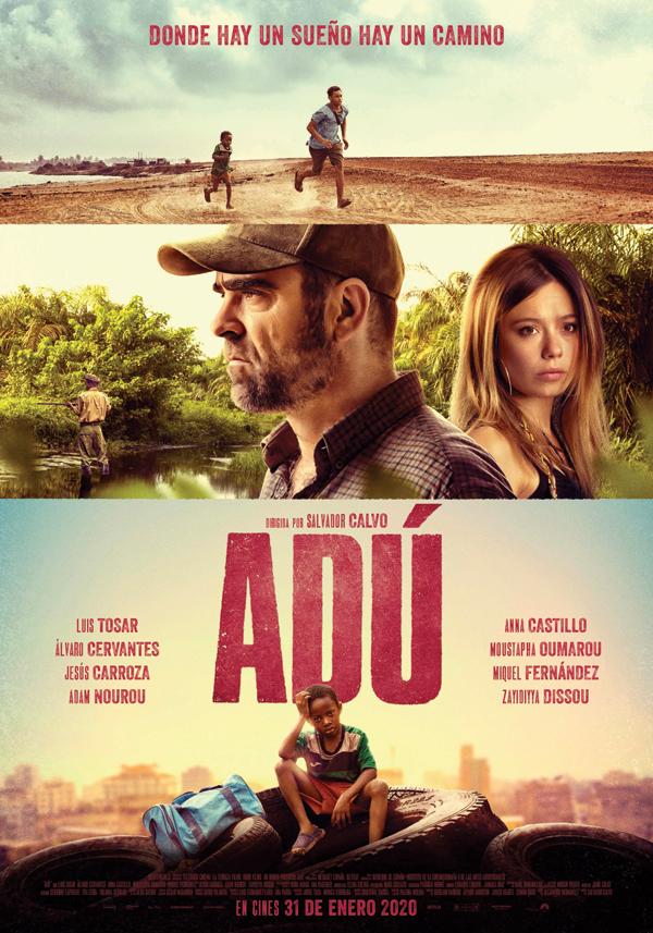 'Adú', de Salvador Calvo, se estrena el próximo 31 de enero