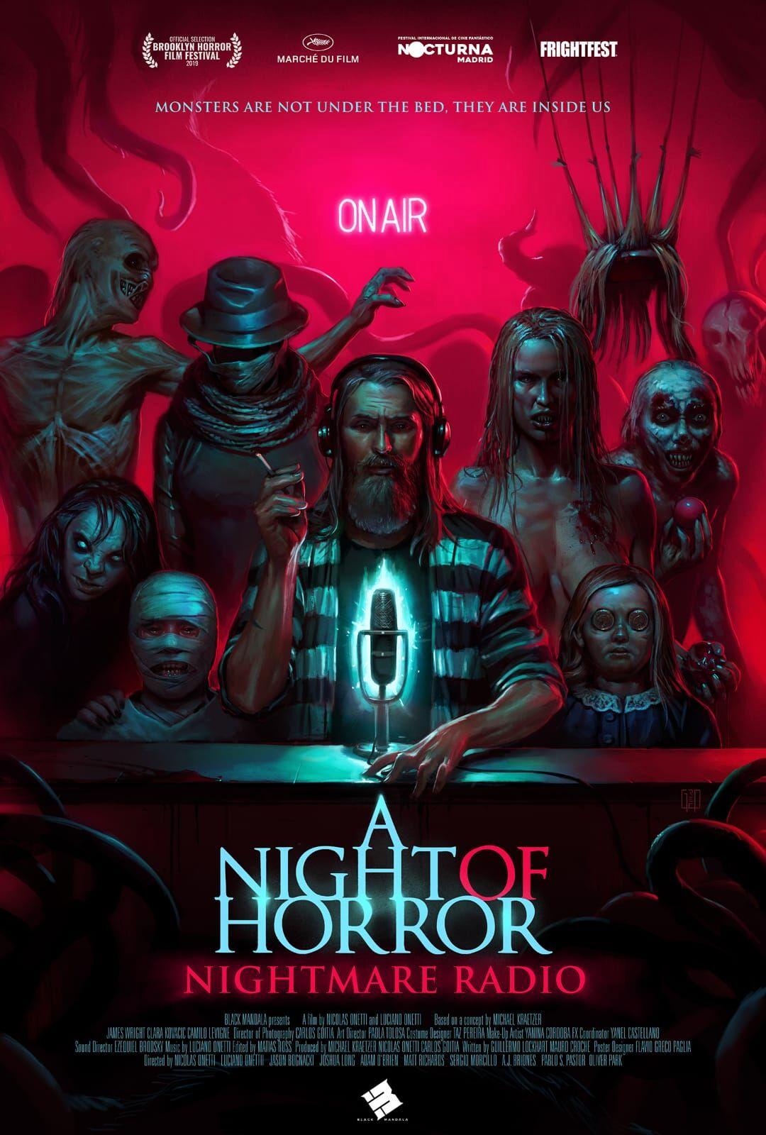 Terror, buen rollo y pasión por el cine con el equipo de 'Gotas', proyecto que forma parte de la antología 'A Night of Horror Nightmare Radio'