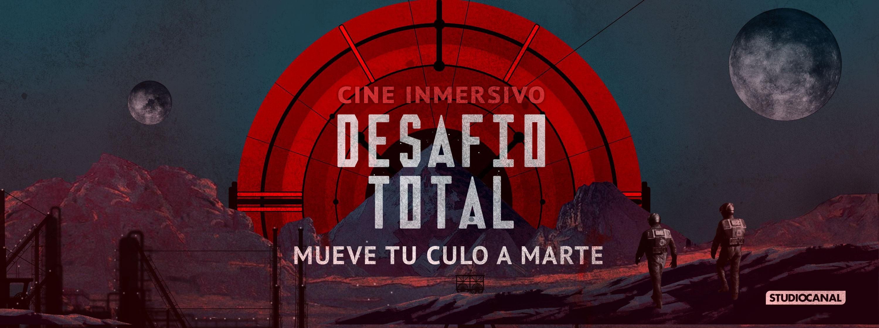 'Desafío total', la experiencia de cine inmersivo más grande de España con destino a Marte, llega este viernes a Madrid de la mano de FEVER