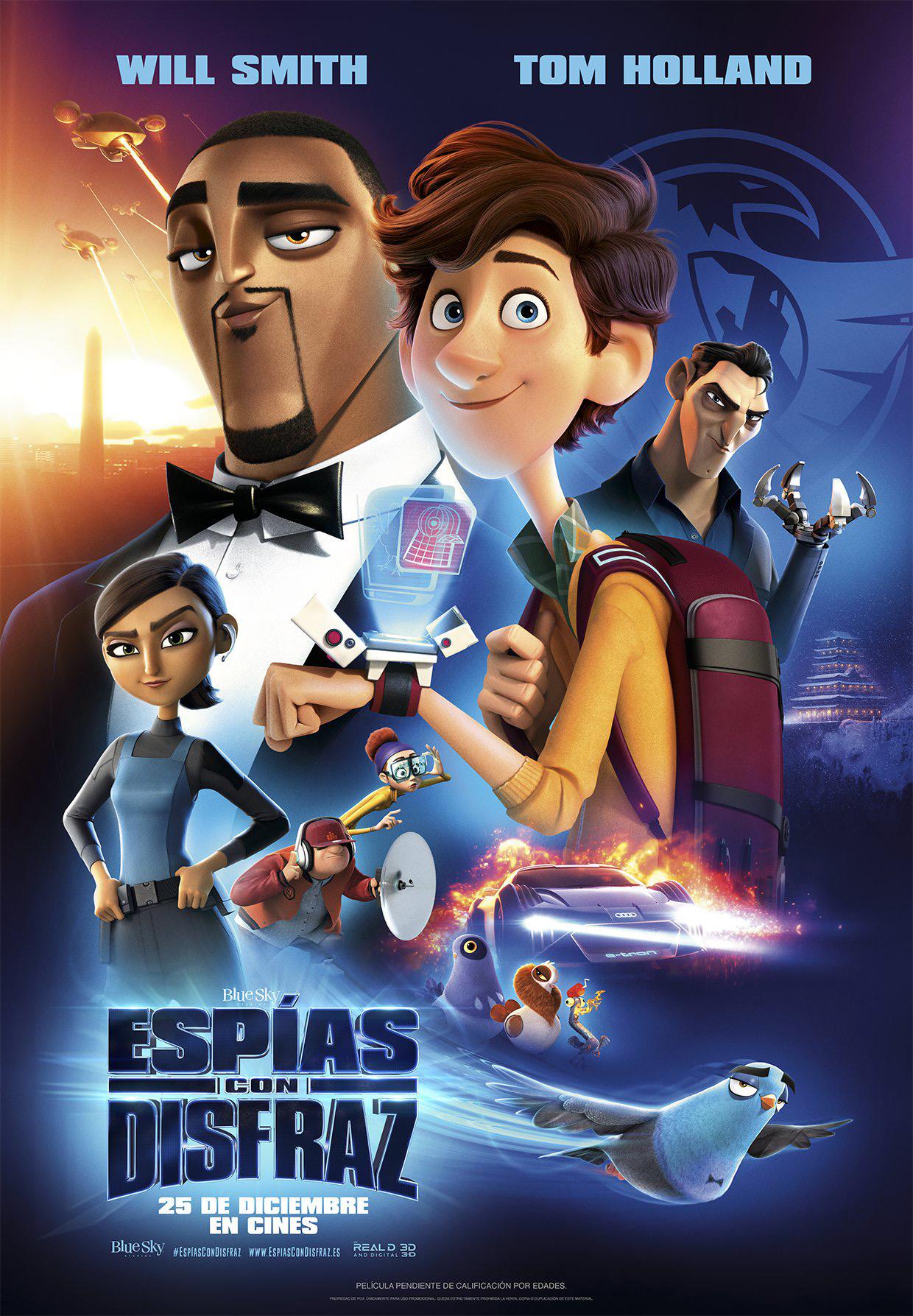 'Espías con Disfraz', 25 de diciembre en cines
