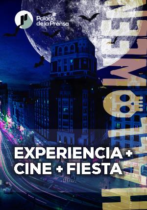 Terror experiencial e inmersivo en Palacio de la Prensa al que se suma la IV edición del 'Terror Frame Fest' este Halloween