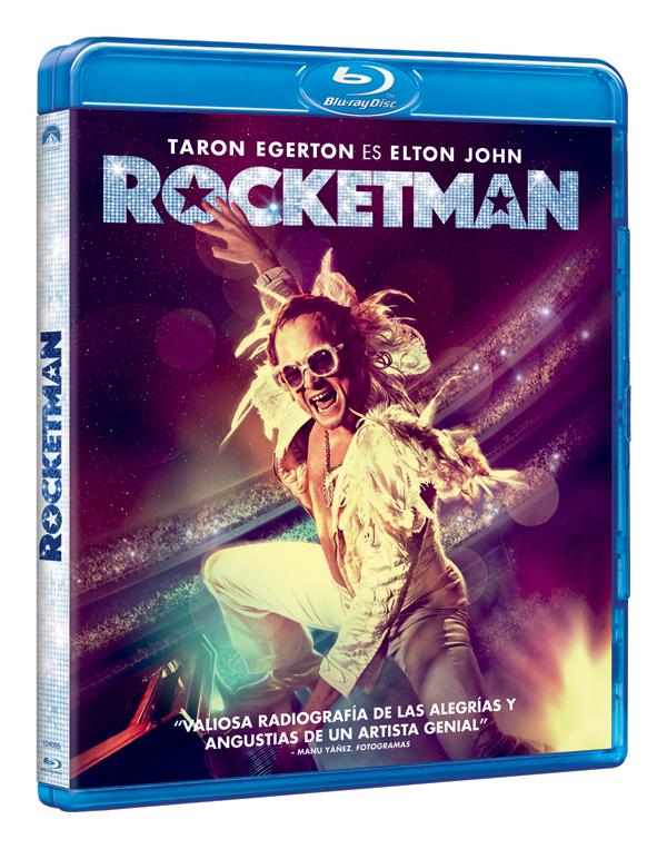 Prepárate para el despegue de 'Rocketman' en DVD, Blu-ray, y 4K UHD