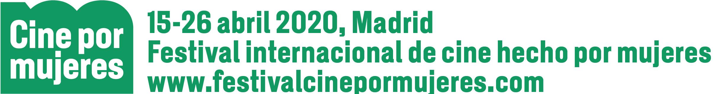 La tercera edición del Festival Cine por Mujeres se celebrará del 15 al 26 de abril de 2020