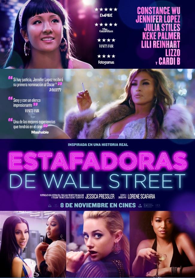 'Estafadoras de Wall Street', 8 de noviembre en cines