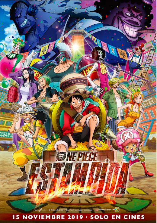 'One Piece Estampida', un homenaje a toda la saga