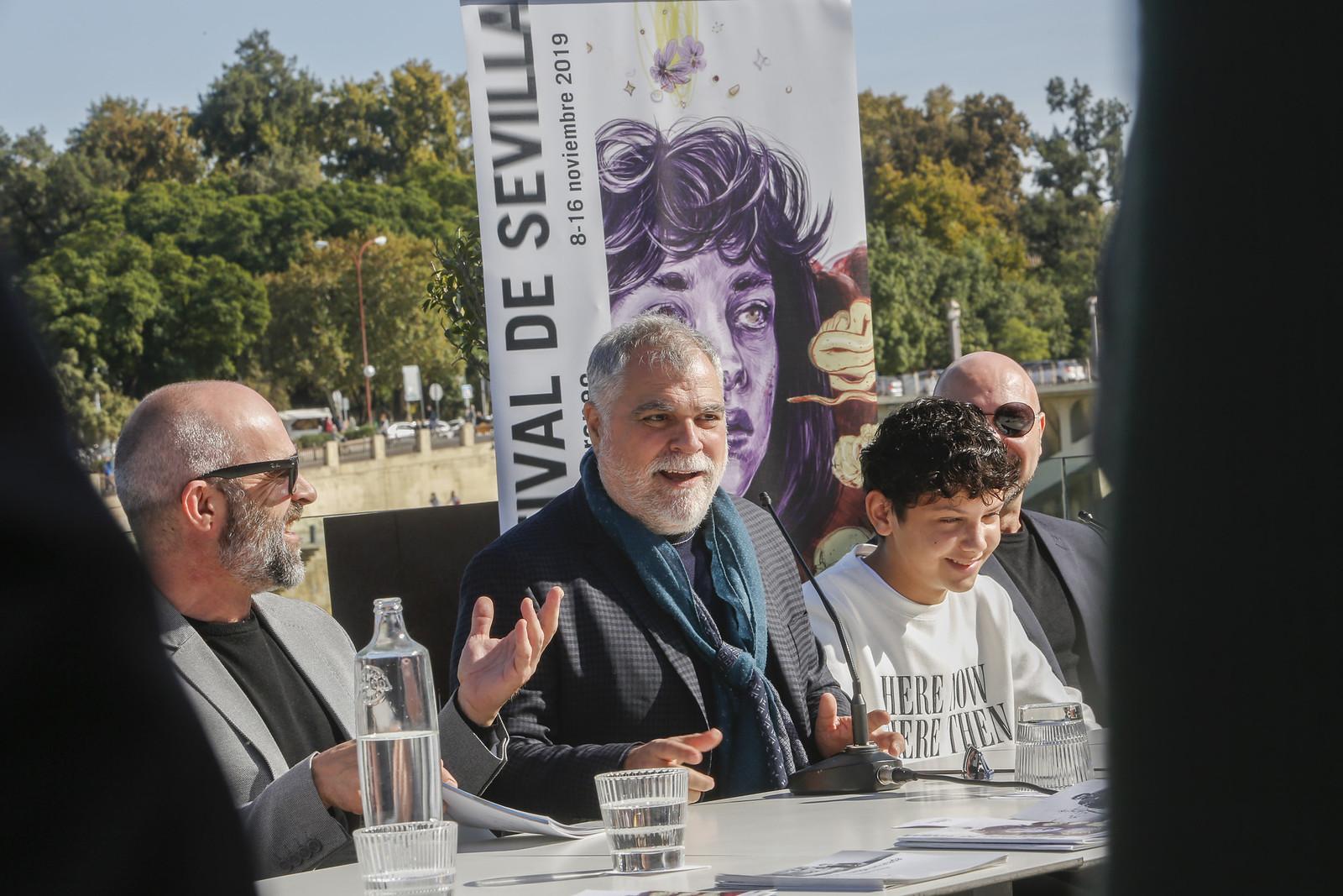 """Benito Zambrano: """"El cine, el arte y la cultura son ejercicios para crear mejores sociedades y personas""""."""
