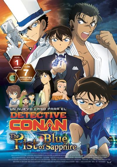 'Detective Conan: El Puño de Zafiro Azul': El de siempre como nunca