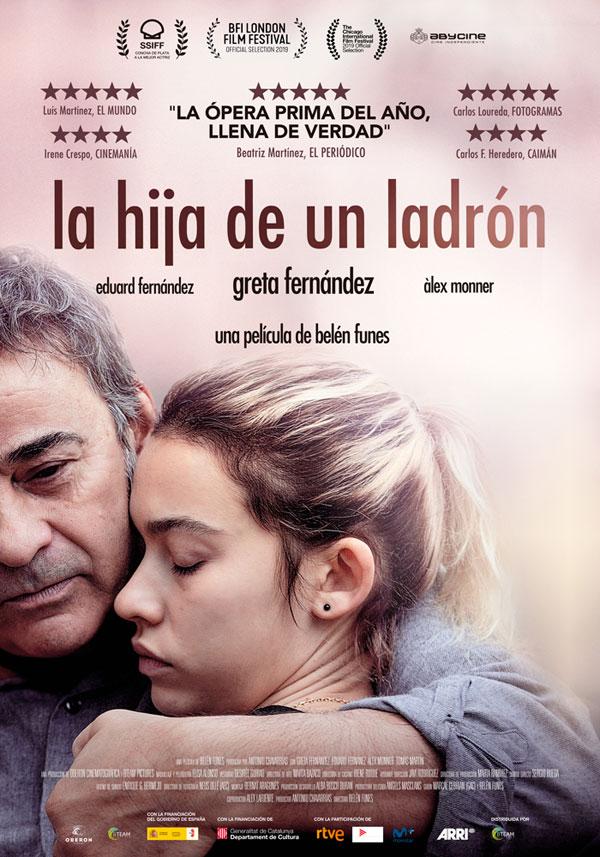 'La Hija de un Ladrón' consigue dos nominaciones a los Premios Goya