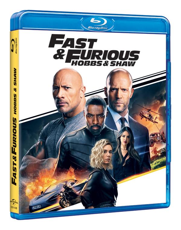 'Fast & Furious: Hobbs & Shaw' luce con furia en sus ediciones físicas