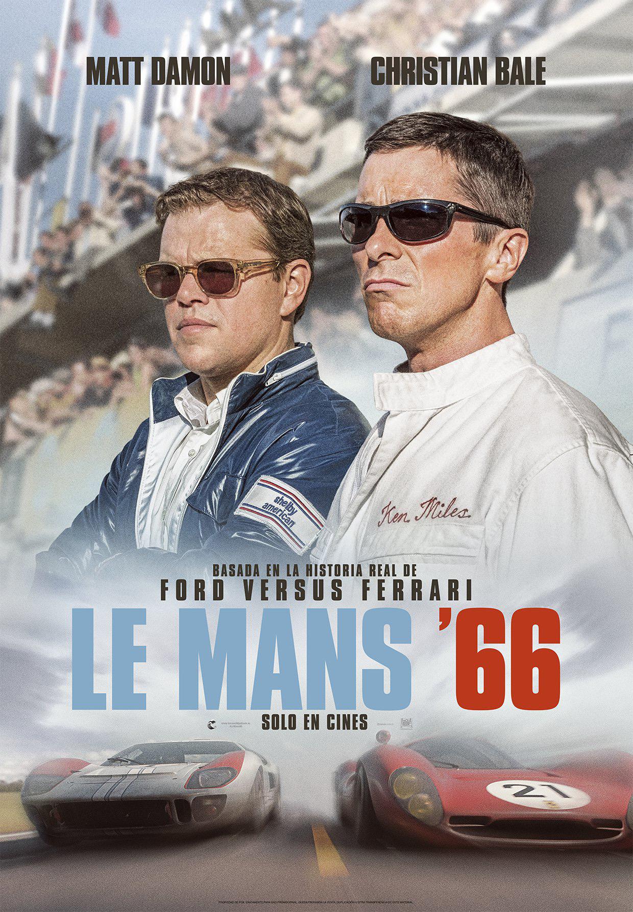 'Le Mans '66': una vuelta perfecta