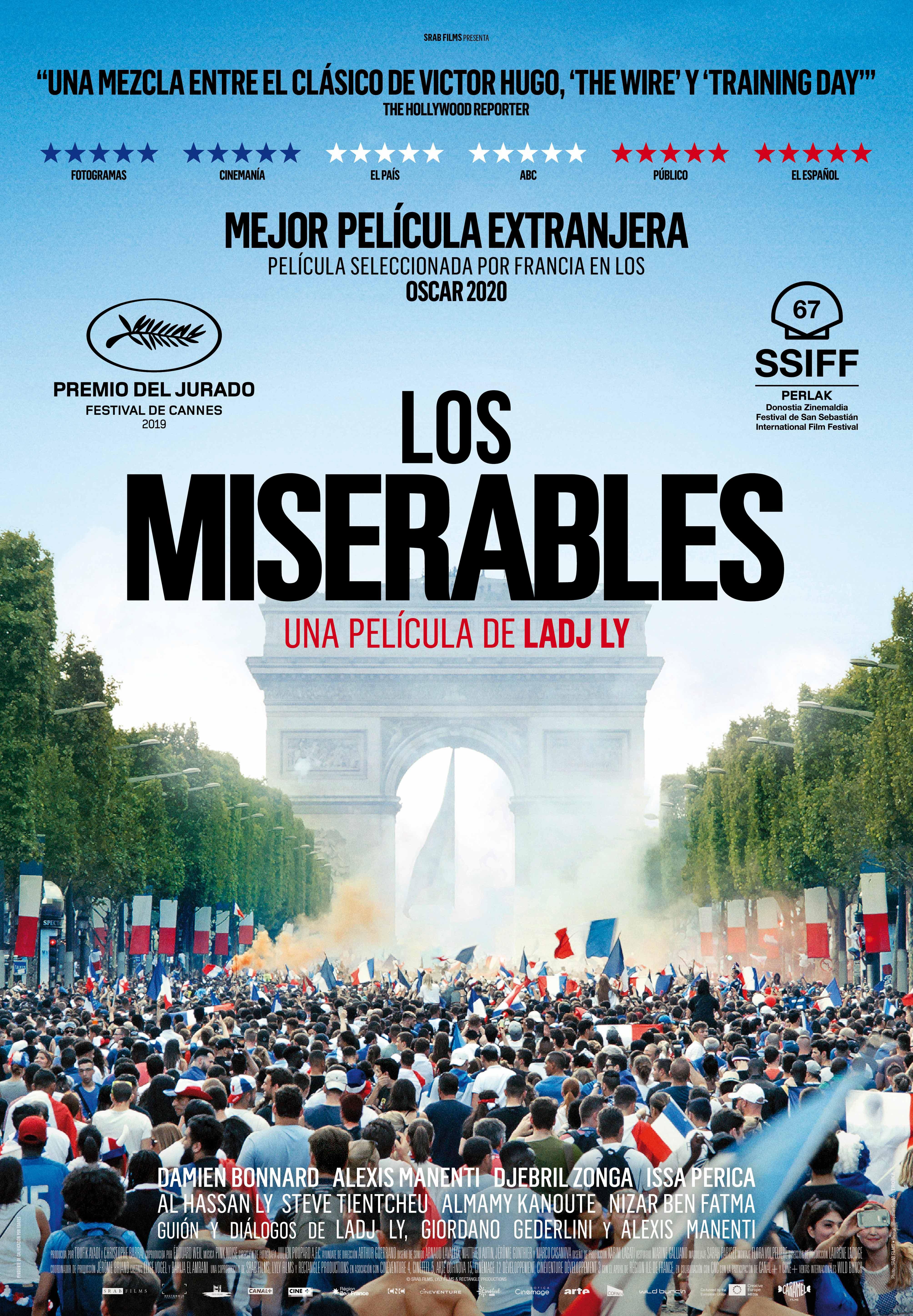 'Los Miserables' nominada al Goya a la mejor película europea