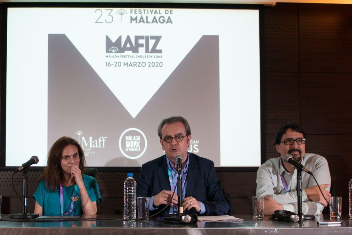 Festival de Málaga presenta en Ventana Sur los proyectos que participarán en su área de industria MAFIZ en la 23 edición