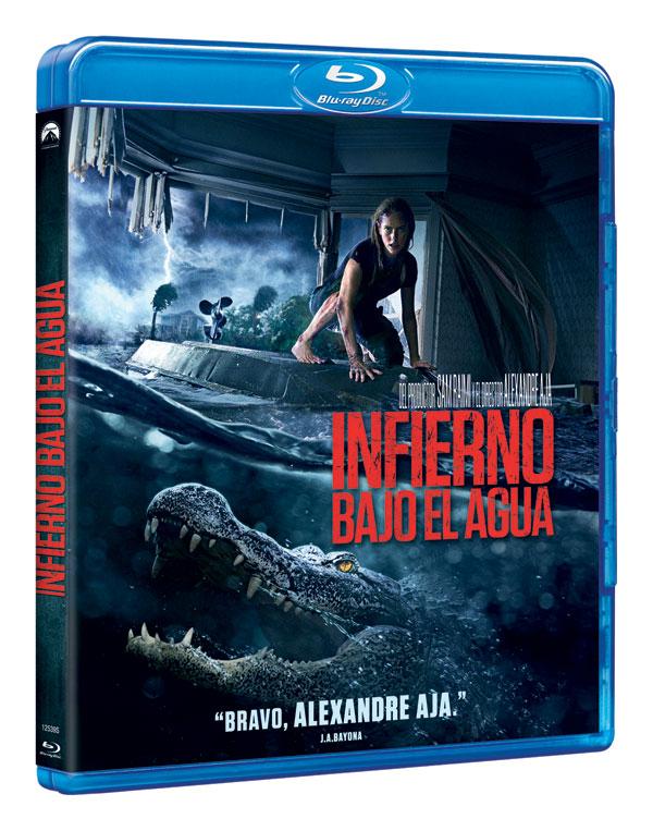¿Huracanes y Cocodrilos? 'Infierno Bajo el Agua', en DVD y Blu-ray