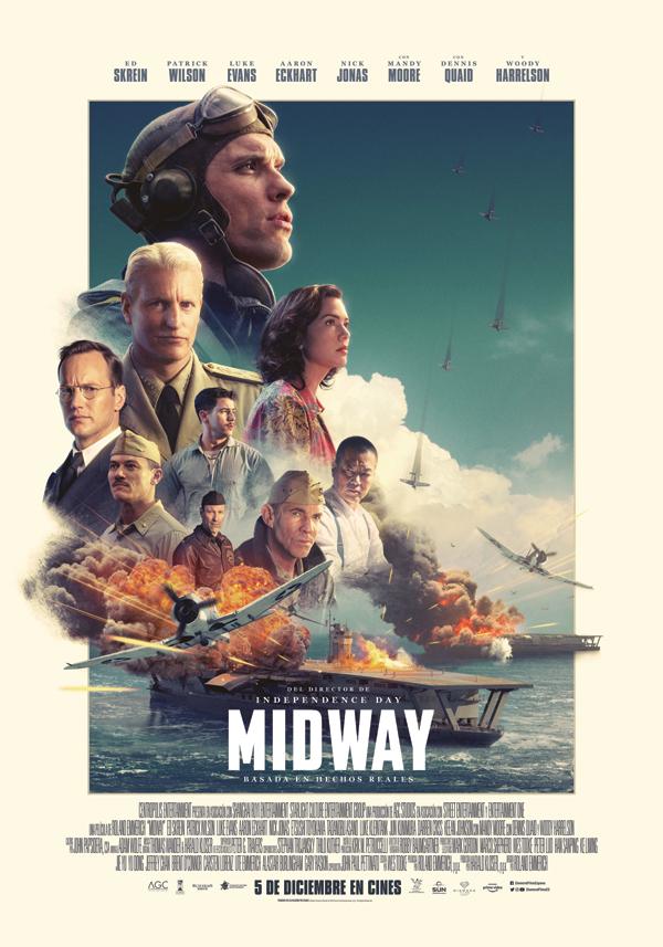 'Midway': Una oda a los veteranos de guerra (y al CGI)