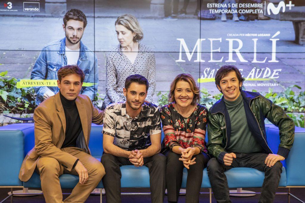 'Merlí. Sapere aude' presenta la serie en Barcelona