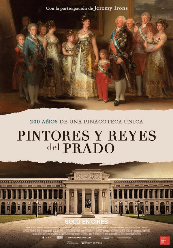 'Pintores y Reyes del Prado': una visita al museo y a su historia desde la butaca del cine