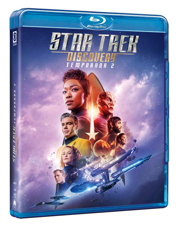 La segunda temporada de 'Star Trek Discovery' llega al formato físico con cuatro horas espectaculares de extras