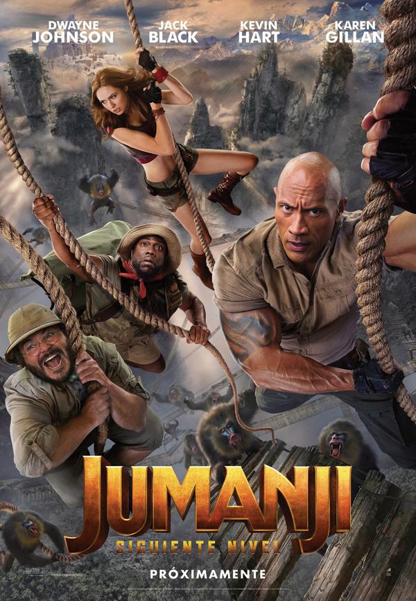 'Jumanji: siguiente nivel': ¿No me había pasado ya este juego?