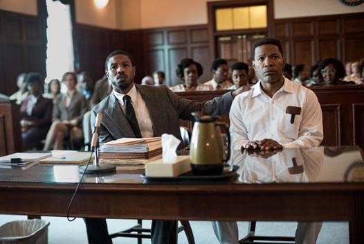 Michael B. Jordan, Jamie Foxx y Brie Larson protagonizan 'Cuestión de Justicia'