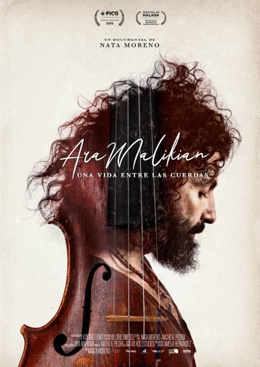 El documental 'Ara Malikian, una vida entre las cuerdas', nominado a los Premios Goya