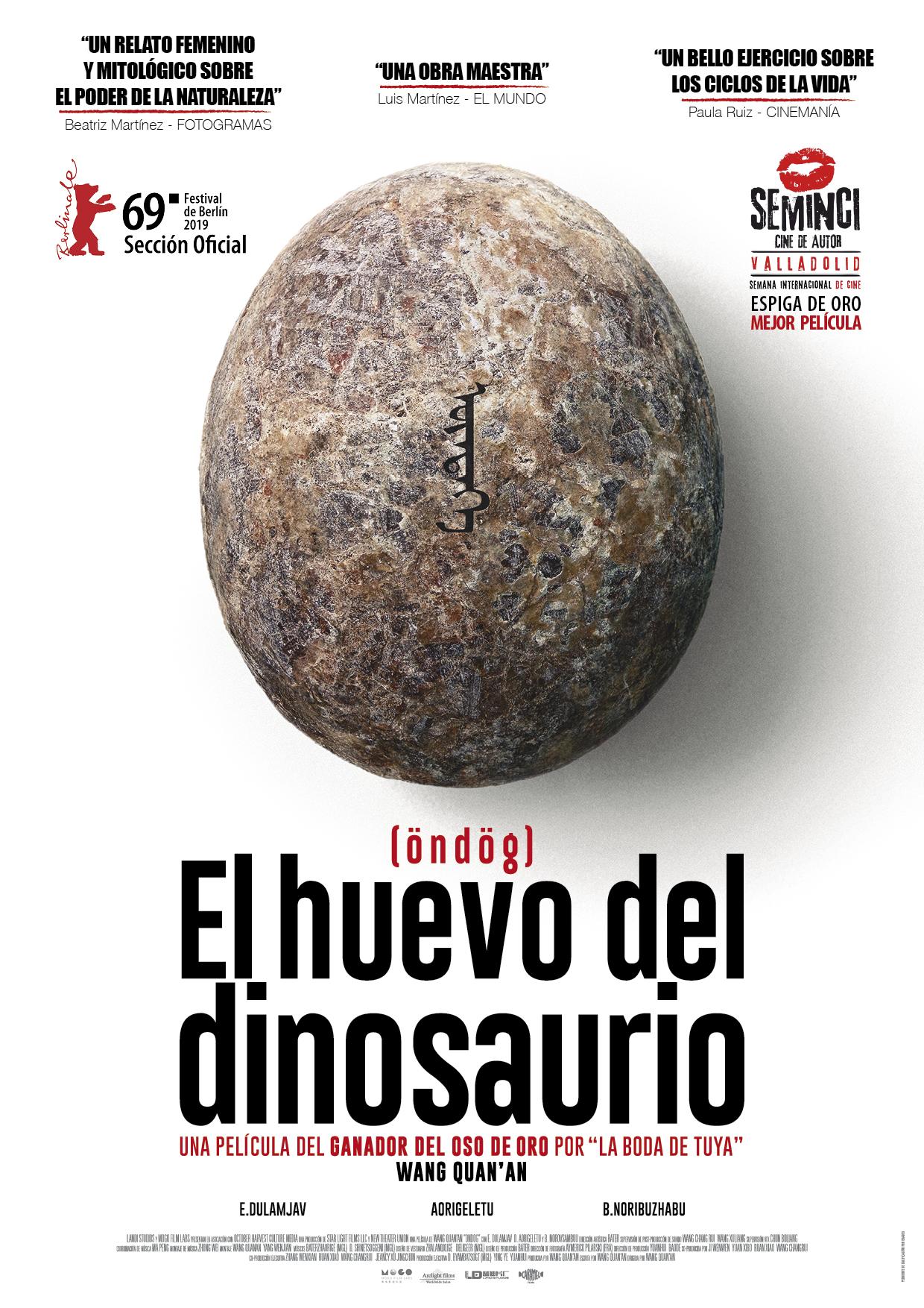 'El Huevo del Dinosaurio' eclosiona en su tráiler en castellano