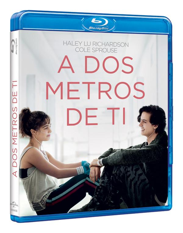 'A Dos Metros de Ti', en DVD y Blu-ray