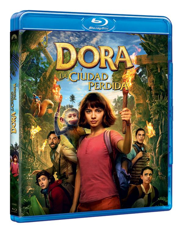 Vive la aventura de 'Dora y la Ciudad Perdida' en DVD y Blu-ray