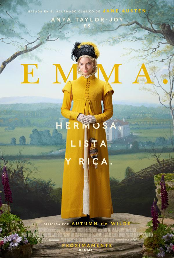 Descubre el nuevo tráiler de la novedosa y cautivadora 'Emma'