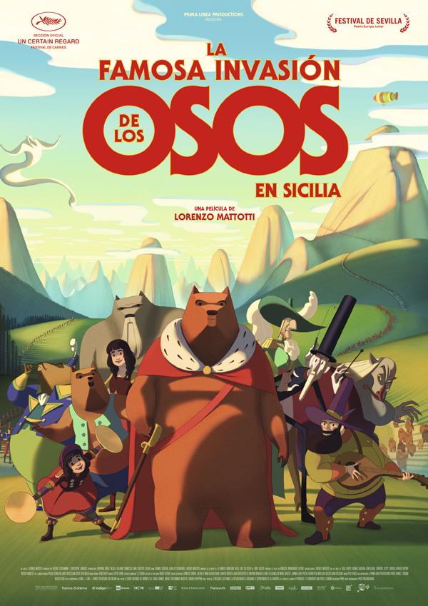 'La Famosa Invasión de los Osos en Sicilia' se estrena el próximo 28 de febrero