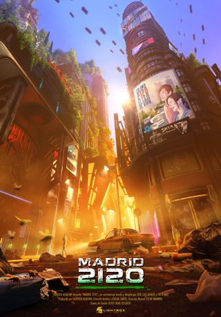 'Madrid 2120', un apocalipsis de sueños y codicia