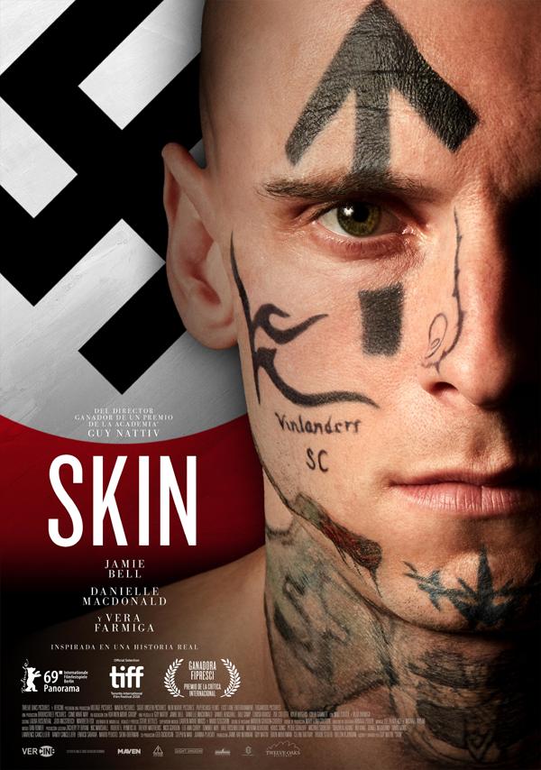 'Skin' con Jamie Bell y Vera Farmiga presenta su tráiler