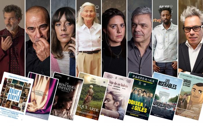 Ocho películas presentadas en el Festival de San Sebastián consiguen veinte Premios Goya