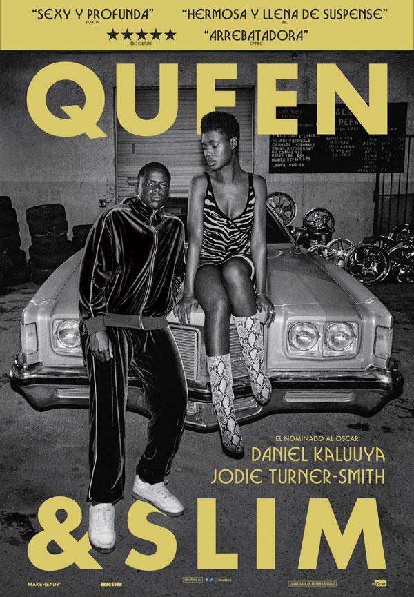 Daniel Kaluuya y Jodie Turner-Smith protagonizan 'Queen & Slim', 21 de febrero en cines